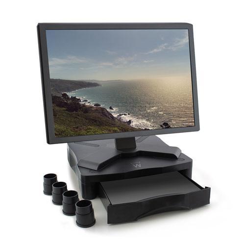 Стойка за монитор Ewent EW1280, за бюро, 27 кг, Черна-2