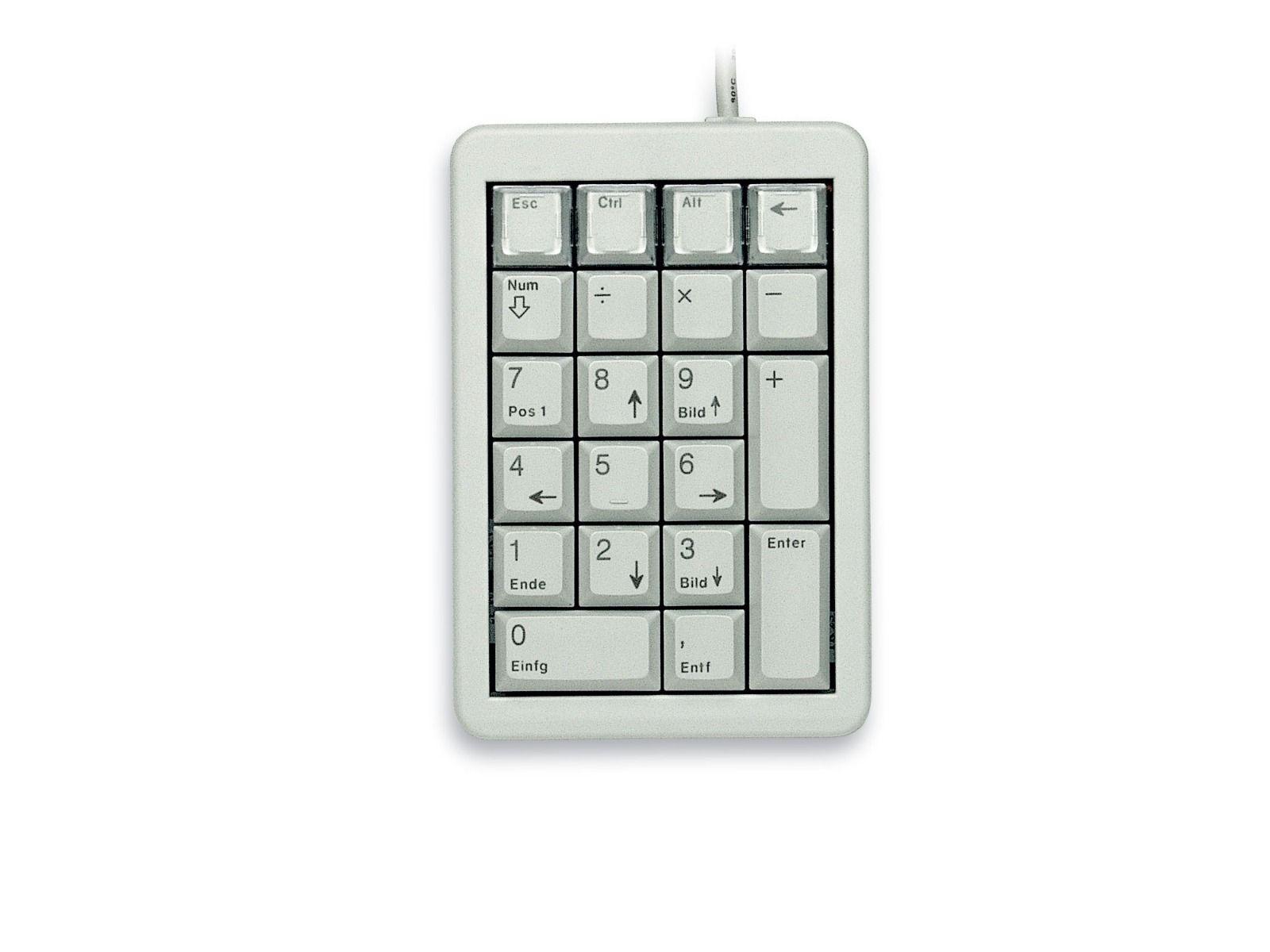 Цифрова клавиатура CHERRY G84-4700 Keypad, USB, сива