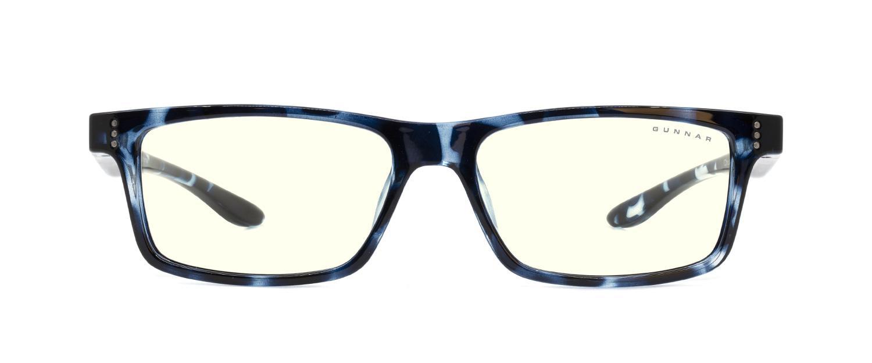 Детски компютърни очила GUNNAR Cruz Kids Large, Clear Natural, Син-2