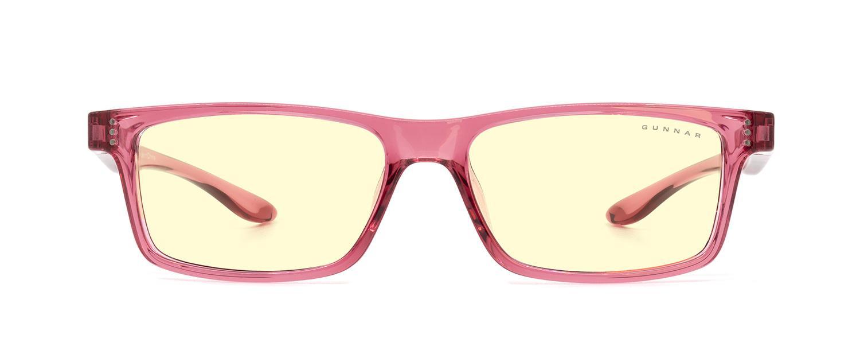 Детски компютърни очила GUNNAR Cruz Kids Large, Amber Natural, Розов-2