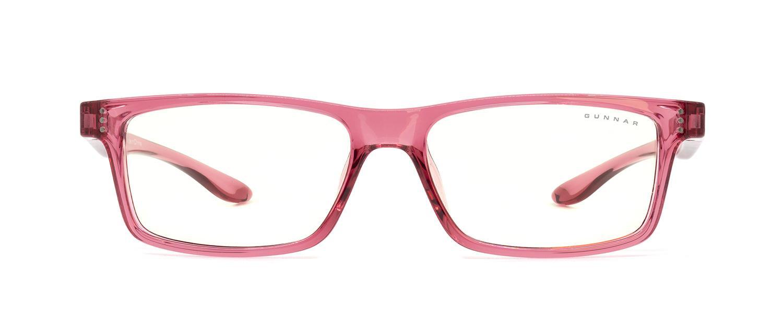 Детски компютърни очила GUNNAR Cruz Kids Large, Clear Natural, Розов-2