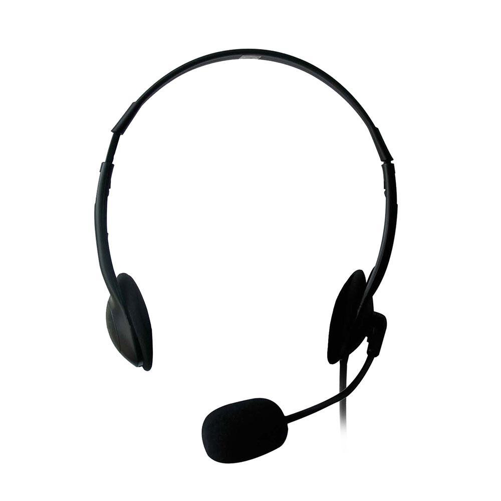 Слушалки Ewent EW3563, Микрофон, 2x 3.5mm жак, 2.1м кабел, Черни-3