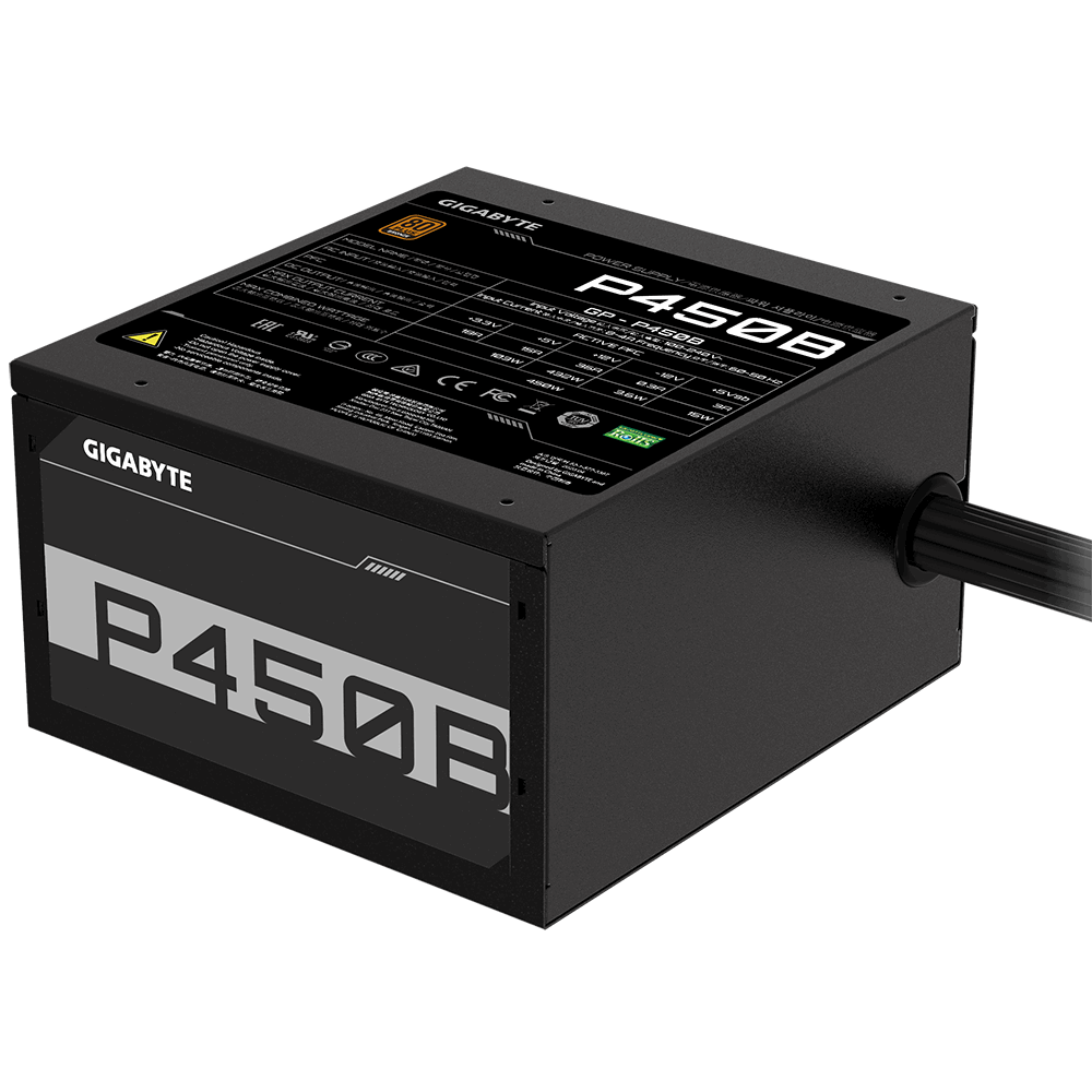 Захранващ блок Gigabyte P450B, 450W, 80+, Bronze-3