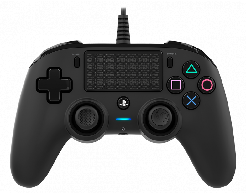 Жичен геймпад Nacon Wired Compact Controller, Черен