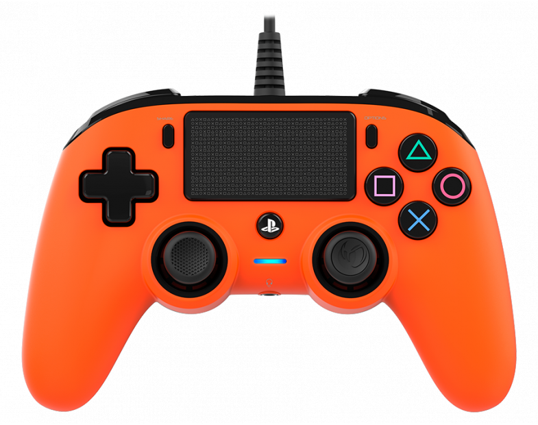 Жичен геймпад Nacon Wired Compact Controller, Оранжев