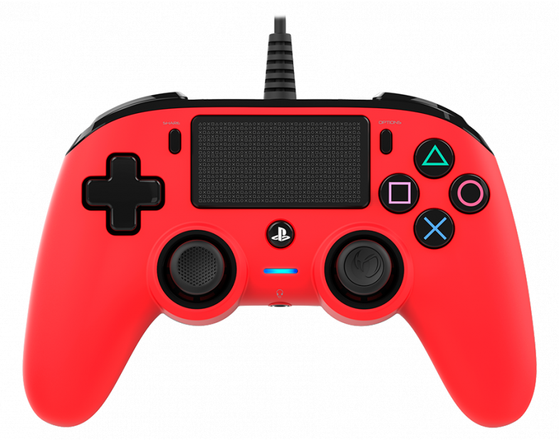 Жичен геймпад Nacon Wired Compact Controller, Червен