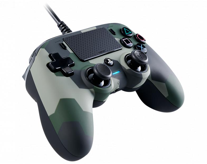 Жичен геймпад Nacon Wired Compact Controller Camo Green, Зелен-2