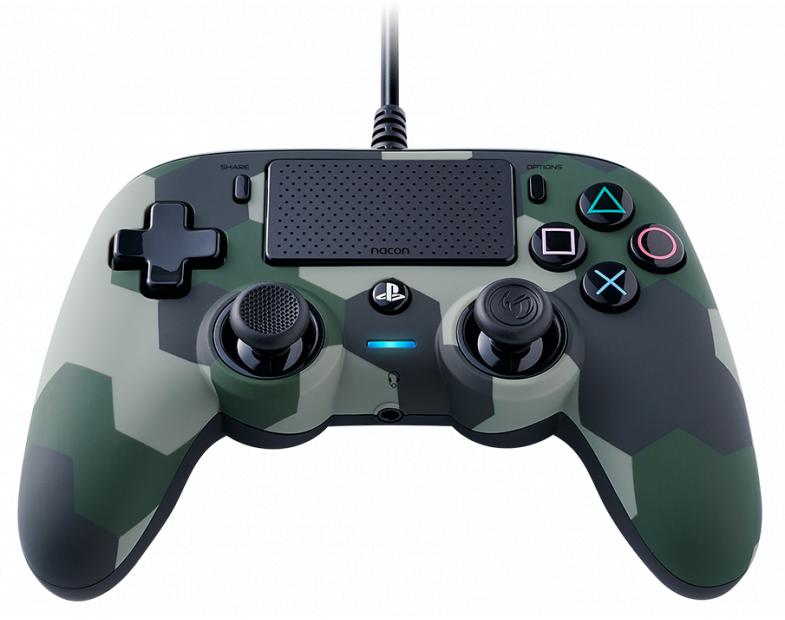 Жичен геймпад Nacon Wired Compact Controller Camo Green, Зелен-3
