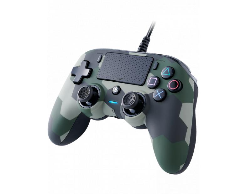 Жичен геймпад Nacon Wired Compact Controller Camo Green, Зелен-4