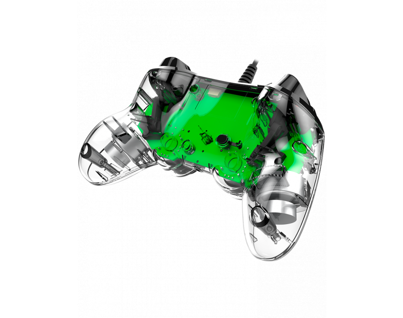 Жичен геймпад Nacon Wired Illuminated Compact Controller Green, Зелен-4