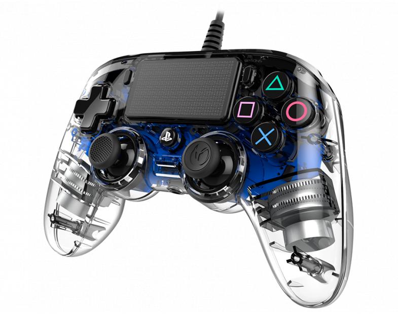 Жичен геймпад Nacon Wired Illuminated Compact Controller Blue, Син-3