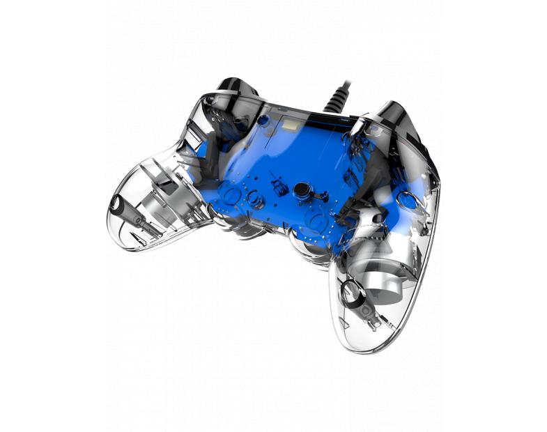 Жичен геймпад Nacon Wired Illuminated Compact Controller Blue, Син-4