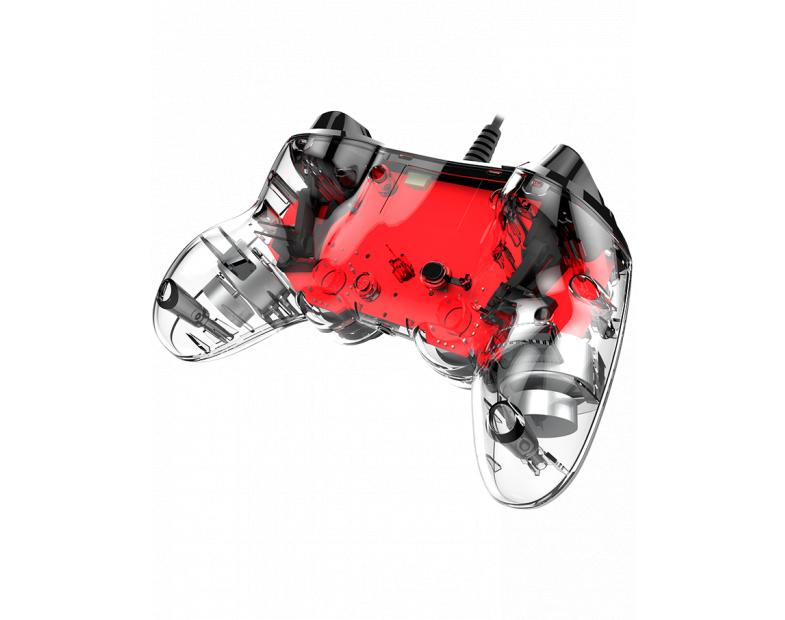 Жичен геймпад Nacon Wired Illuminated Compact Controller Red, Червен-4