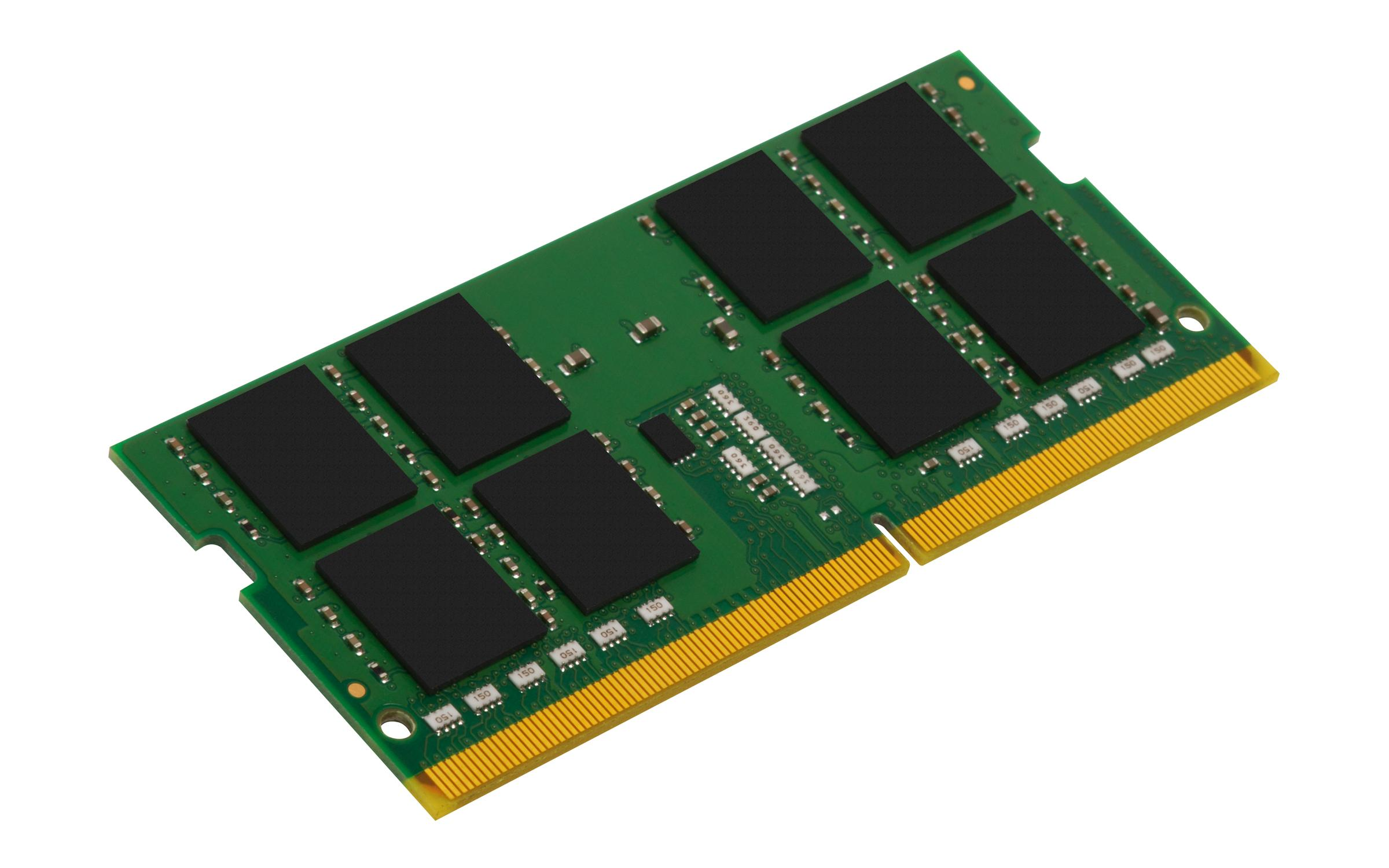 Памет Kingston 4GB, SODIMM, DDR4, PC4-25600, 3200MHz, CL22 KVR32S22S6/4-2