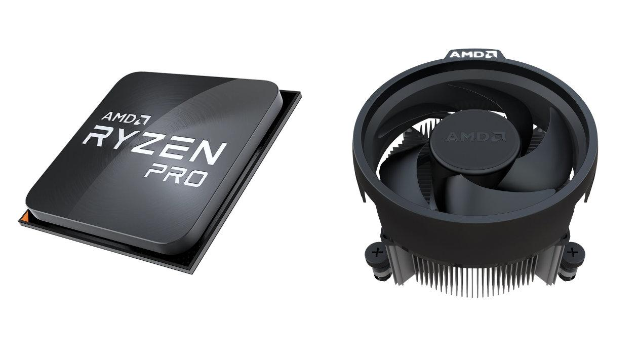 Процесор AMD RYZEN 5 PRO 4650G MPK, 6C/12T, 11MB, 3.7 GHz (up to 4.2 GHz), with Radeon Graphics, AM4, 65W