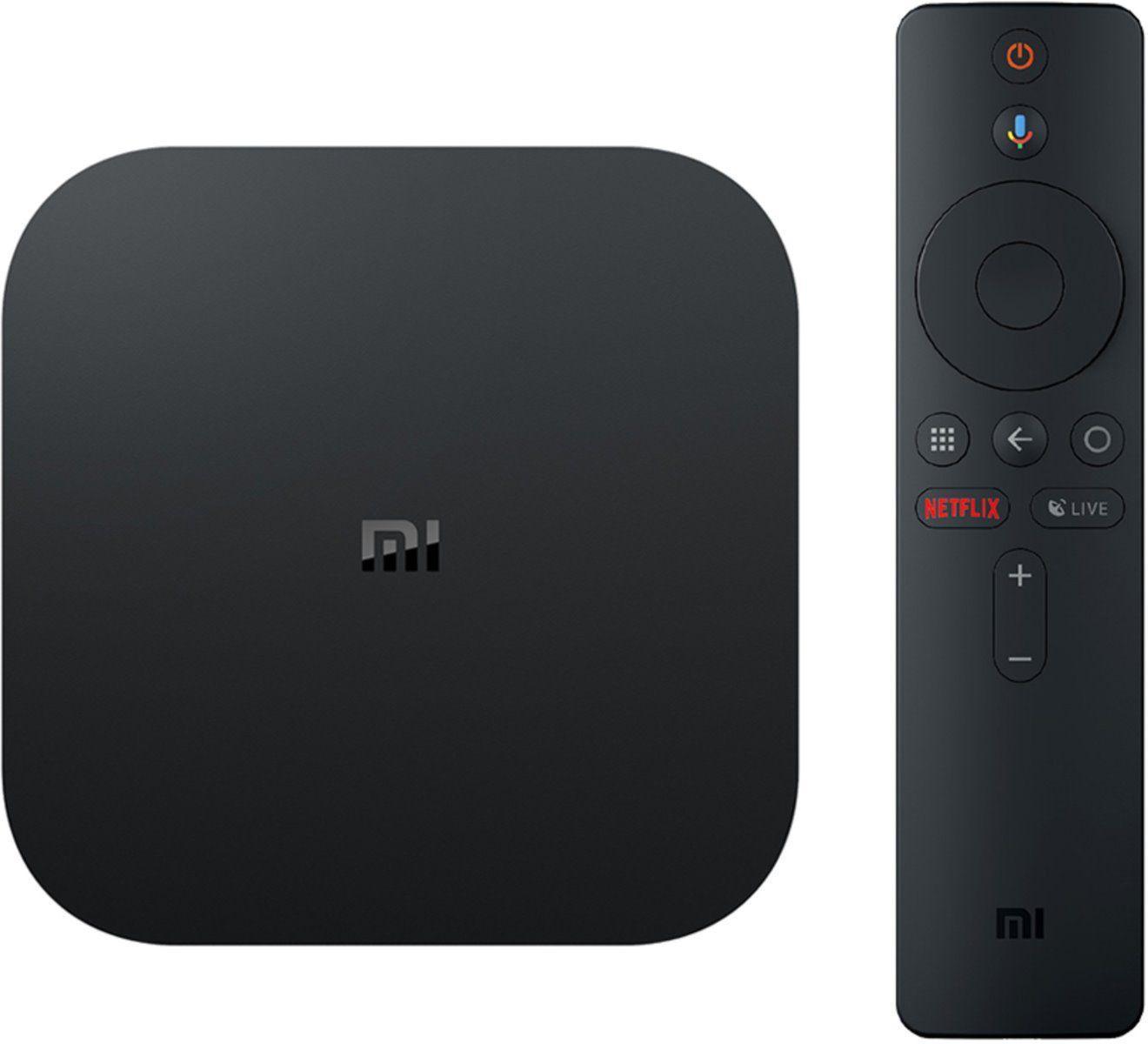 TV SMART плейър Xiaomi Mi TV Box S EU PFJ4086EU, 2GB DDR3, Andoid, Quad-core Cortex-A53 2.0GHz, Черен-2