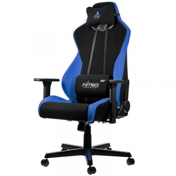 Геймърски стол Nitro Concepts S300, Galactic Blue