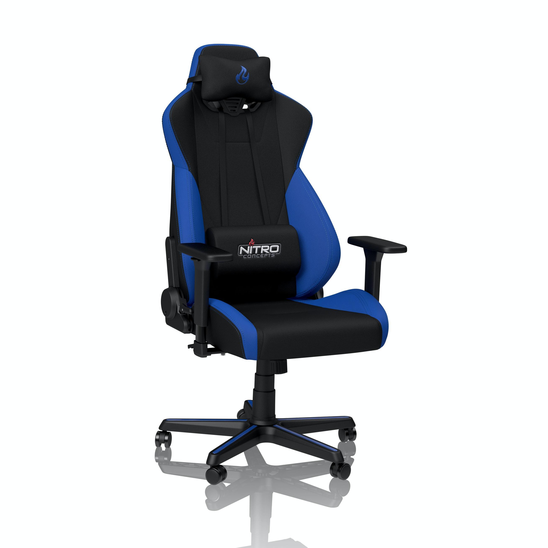 Геймърски стол Nitro Concepts S300, Galactic Blue-2