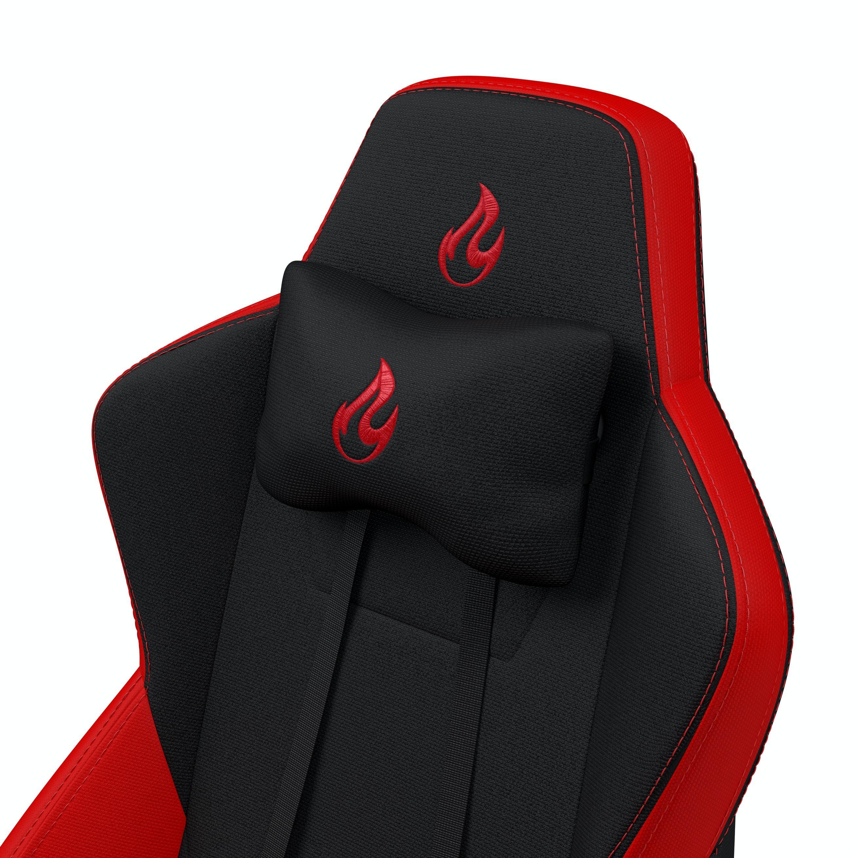 Геймърски стол Nitro Concepts S300, Inferno Red-3