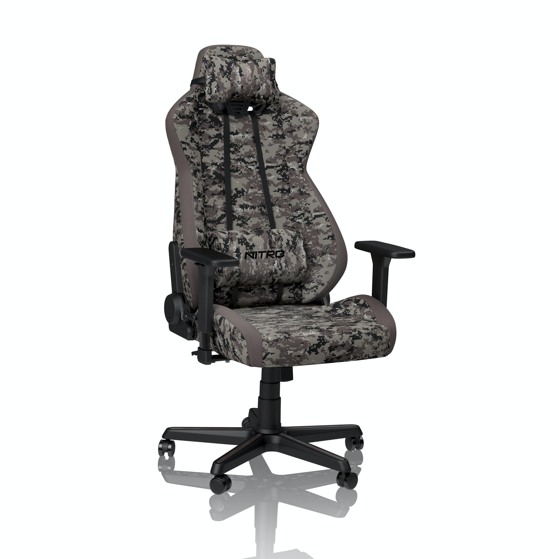 Геймърски стол Nitro Concepts S300, Urban Camo-2