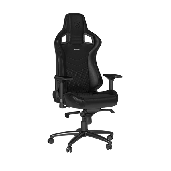 Геймърски стол noblechairs EPIC Real Leather, Black