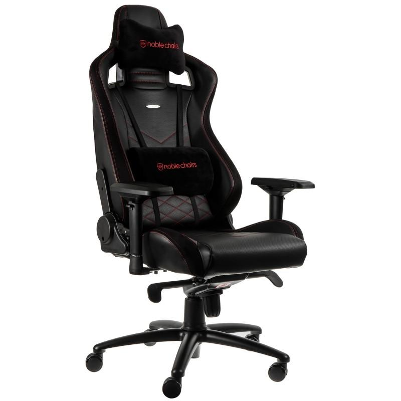 Геймърски стол noblechairs EPIC, Black/Red