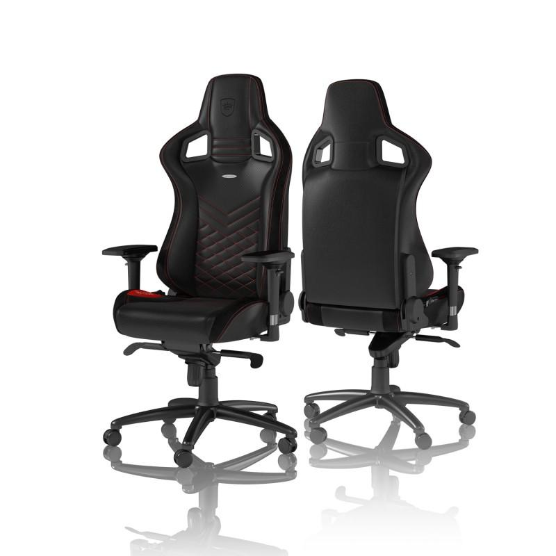 Геймърски стол noblechairs EPIC, Black/Red-3