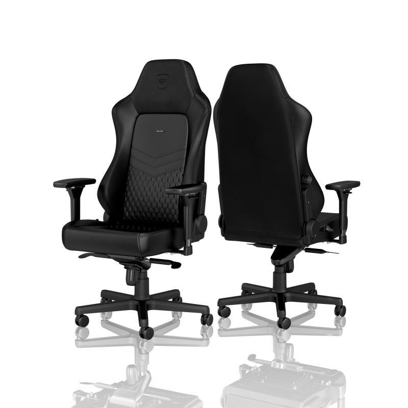 Геймърски стол noblechairs HERO Real Leather, Black-3