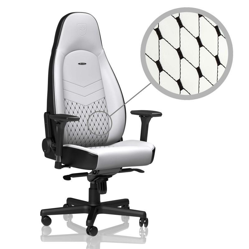 Геймърски стол noblechairs ICON, White/Black-2