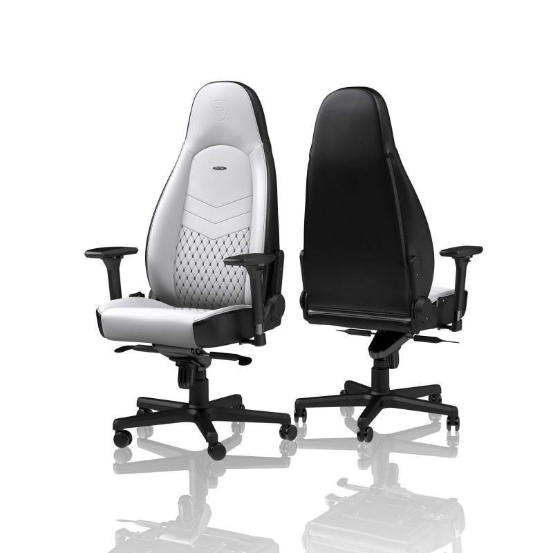 Геймърски стол noblechairs ICON, White/Black-3