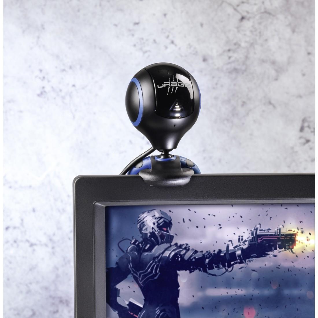 Уеб камера HAMA uRage Webcam HD Essential, HD, микрофон, Черна-3