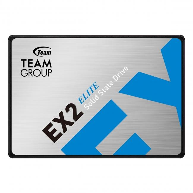 Solid State Drive (SSD) Team Group EX2, 512GB, Black
