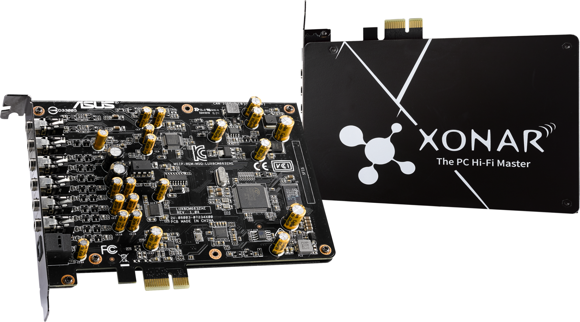 Звукова карта ASUS Xonar AE 7.1 PCIe Gaming audio