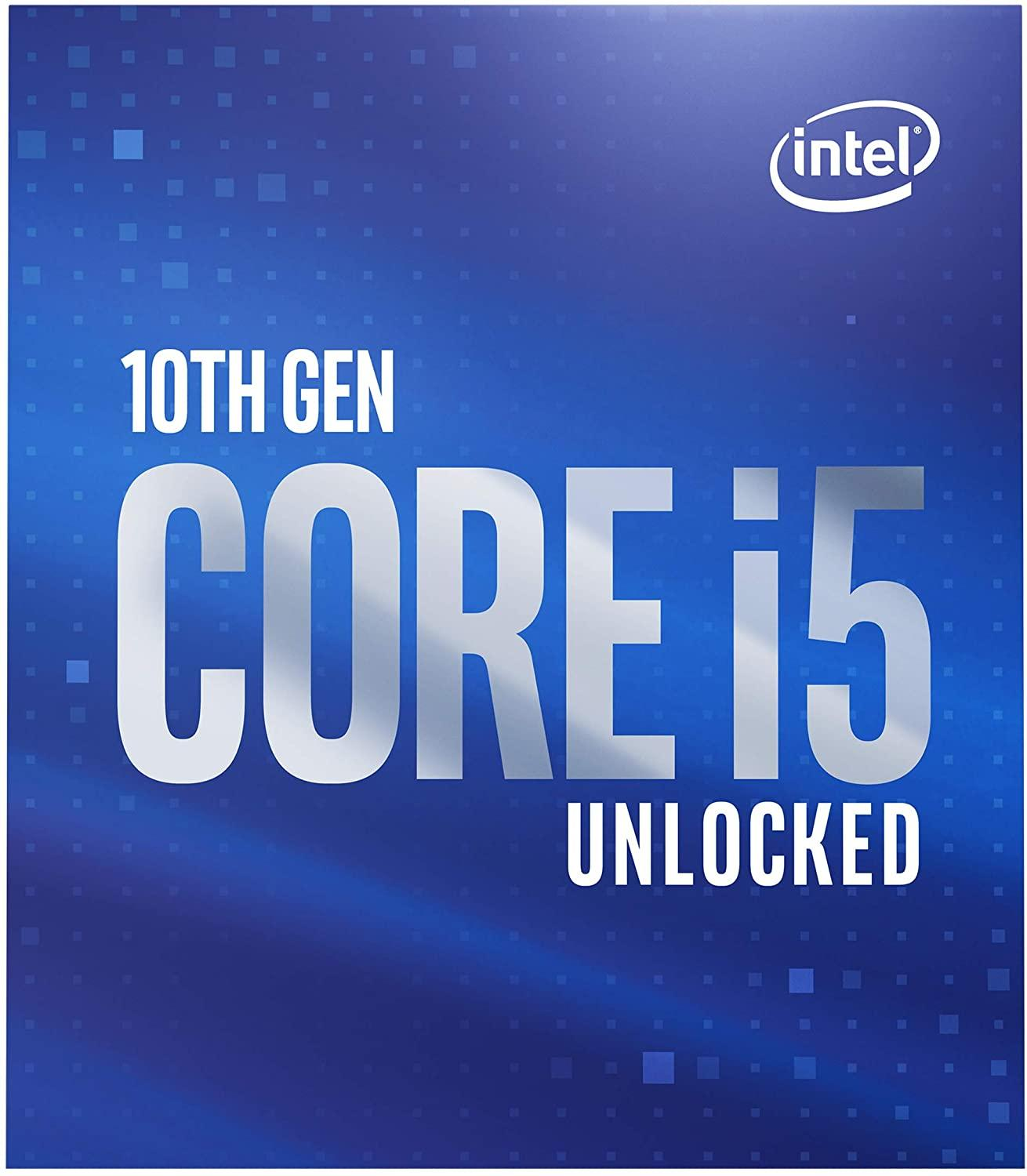 Процесор Intel Comet Lake-S Core I5-10600K 6 cores 4.1Ghz (Up to 4.80Ghz) 12MB, 125W LGA1200, BOX