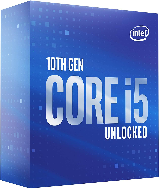 Процесор Intel Comet Lake-S Core I5-10600K 6 cores 4.1Ghz (Up to 4.80Ghz) 12MB, 125W LGA1200, BOX-2