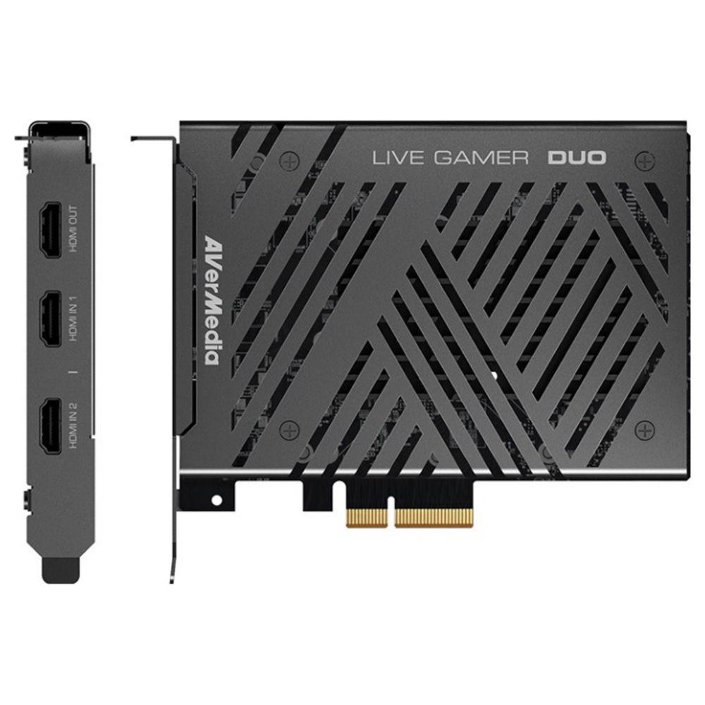 Вътрешен кепчър AVerMedia LIVE Gamer DUO, PCIe-2