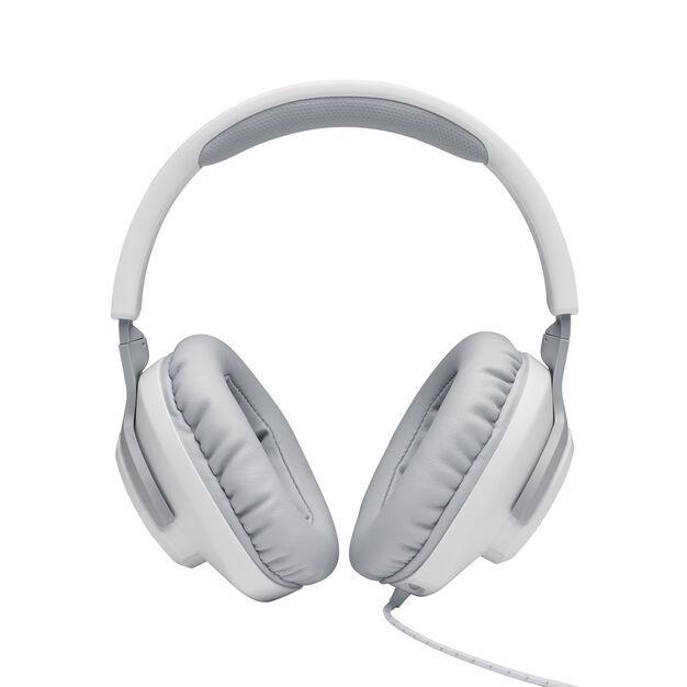 Геймърски слушалки JBL Quantum 100 White-3