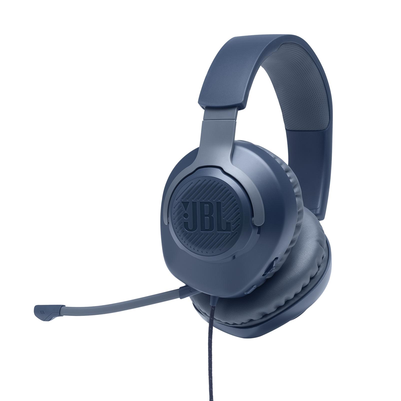 Геймърски слушалки JBL Quantum 100 Blue-2