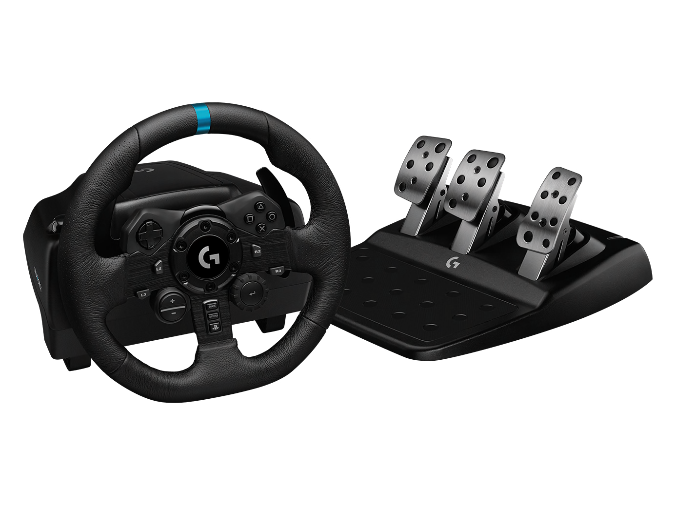 Волан Logitech G923 Sim Racing Wheel, PS4, PC