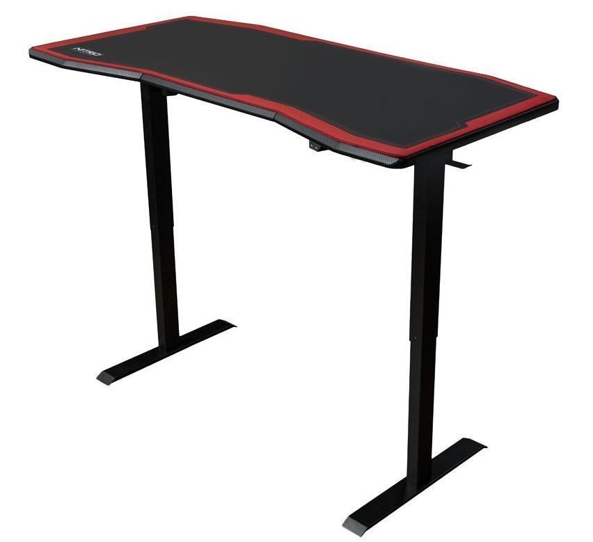 Геймърско бюро Nitro Concepts D16E, Carbon Red, Електрическо управление на височина-2