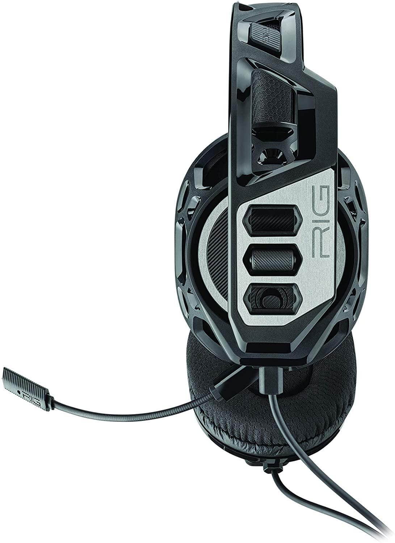 Геймърски слушалки Plantronics RIG 300HC, Микрофон, Черен/Сребрист-2