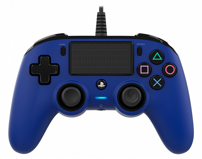 Жичен геймпад Nacon Wired Compact Controller, Син
