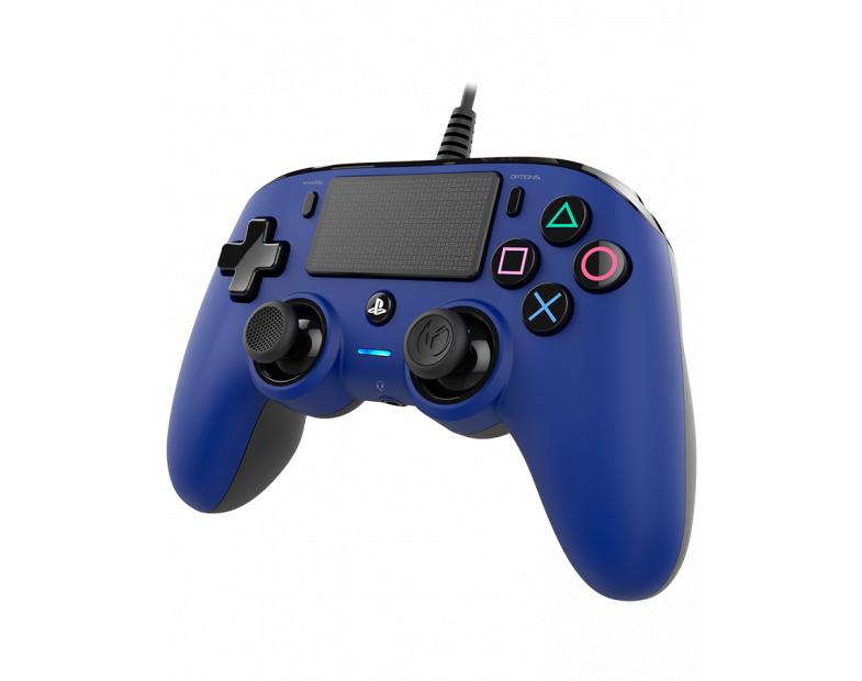 Жичен геймпад Nacon Wired Compact Controller, Син-4