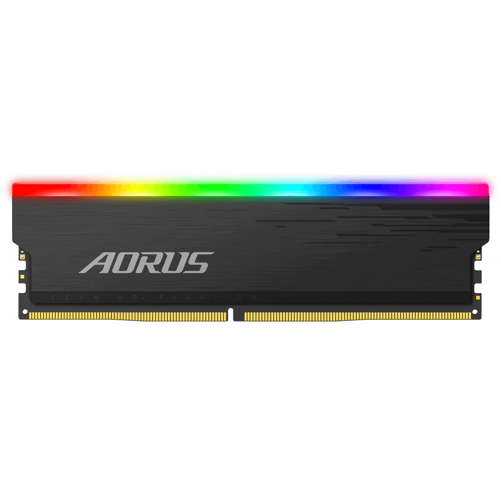 Памет Gigabyte AORUS RGB 16GB DDR4 (2x8GB), 4400MHz, CL19-26-26-46, 1.35v