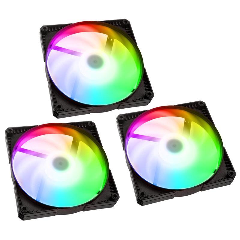 Комплект вентилатори Phanteks SK PWM 120x120x25 D-RGB, 3 броя-2