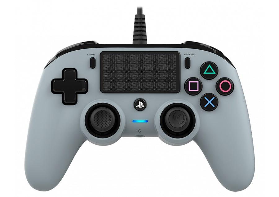 Жичен геймпад Nacon Wired Compact Controller Camo Grey, Сив