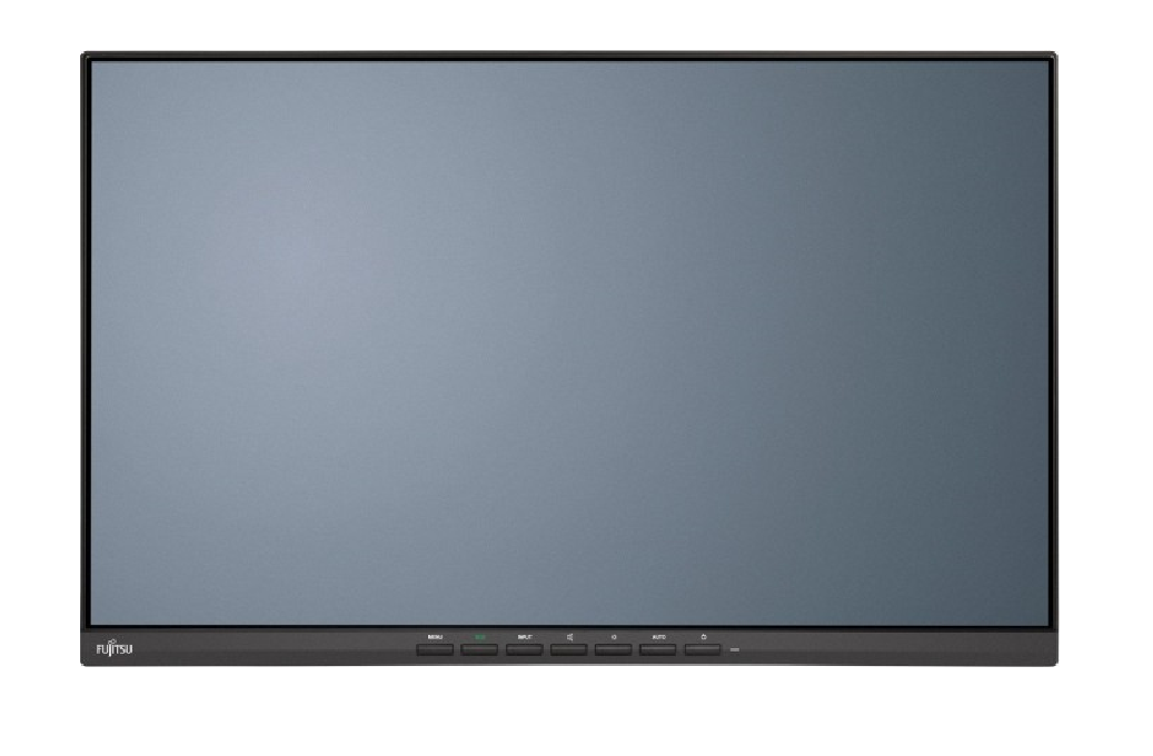 Тъч монитор Fujitsu E24-9 TOUCH, 23.8 inch, Wide, Full HD, Display Port, VGA, HDMI, Черен