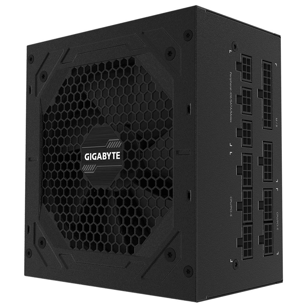 Захранващ блок Gigabyte P850GM, 850W, 80+ GOLD, Modular