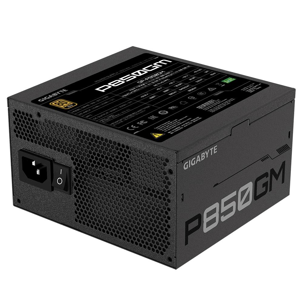 Захранващ блок Gigabyte P850GM, 850W, 80+ GOLD, Modular-4