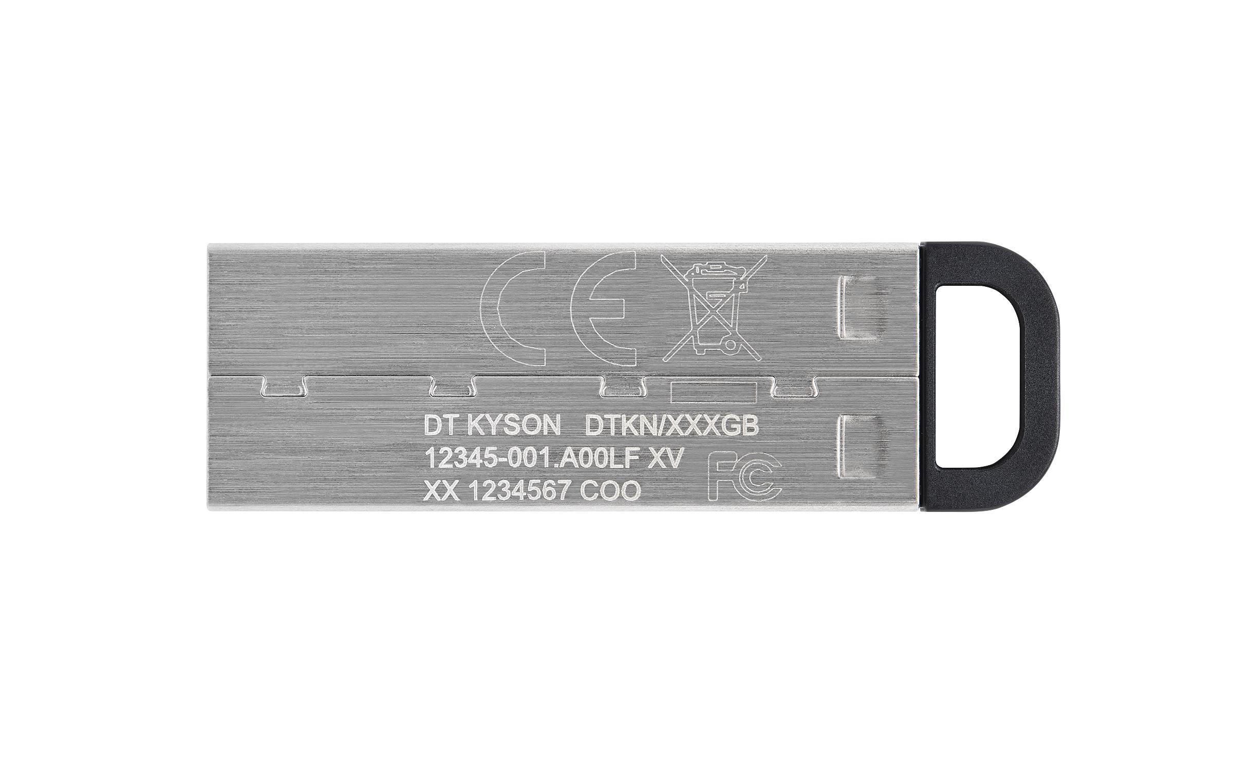 USB памет KINGSTON DataTraveler Kyson 32GB, USB 3.2 Gen 1, Сребрист-3